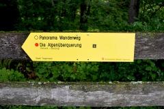 Wegweiser Alpenueberquerung