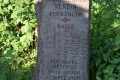 Gedenkstein Schwarzwaldverein