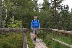 Bohlenweg am Hochmoor Kaltenbronn
